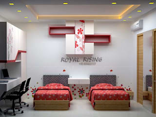 Modern Bedroom by Royal Rising Interiors Modern