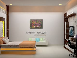 Bedroom by Royal Rising Interiors