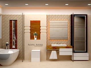 Interior Designs:  Bathroom by Royal Rising Interiors