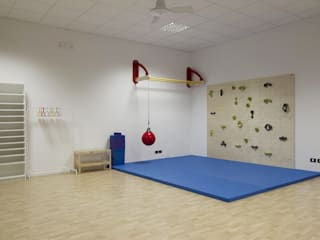Salle de sport de style  par CPstudio46
