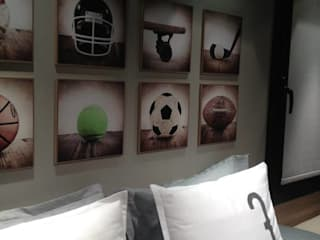 Habitación de niños: Dormitorios infantiles de estilo moderno por FEF Arquitectas