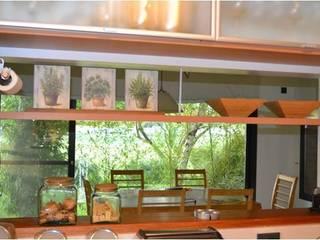 CASA RINCON 2 Comedores modernos de FEF Arquitectas Moderno