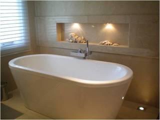 CASA RINCON 2 Baños modernos de FEF Arquitectas Moderno