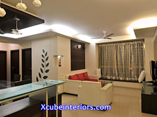 Residential projects Modern living room by xcubeinteriors Modern