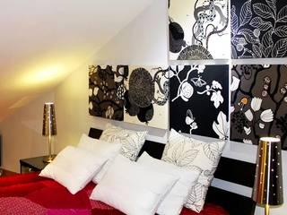 Ático Yue: Dormitorios de estilo  de LC arquitectura