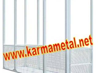 Piscina in stile industriale di KARMA METAL Industrial