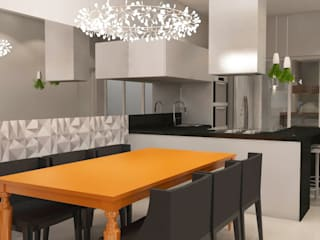 Arquiteto Virtual - Projetos On lIne Modern dining room
