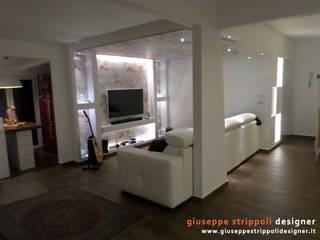 Salas de estar modernas por Giuseppe Strippoli Designer