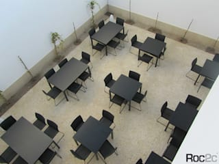 Gastronomia in stile moderno di ROC2C_Calçada Portuguesa Moderno