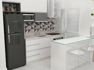 Arquiteto Virtual - Projetos On lIne Modern Kitchen