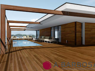 modern  by A.Barbosa, Modern Solid Wood Multicolored