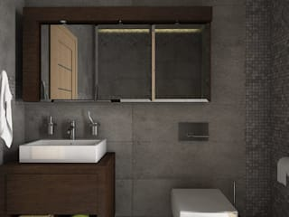 Bathroom by Estudio BAM , Minimalist
