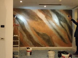 Rustic style walls & floors by hdecorativepaint Rustic