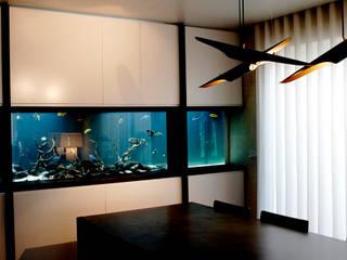ADn freshwater aquarium por ADn Aquarium Design Moderno