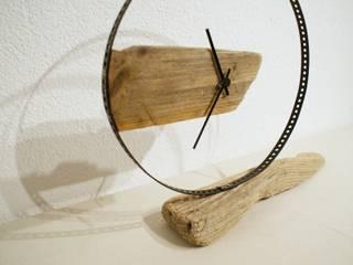 Treibholz - Tischuhr von nordic Art Ausgefallen