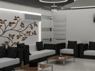 Drawing Room Modern living room by EXOTIC FURNITURE AND INTERIORS Modern