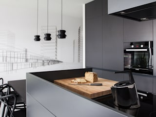 CC /_\ Concrete Concept by KASIA ORWAT design Minimalistyczna kuchnia od WERONIKA TROJANOWSKA photographer Minimalistyczny