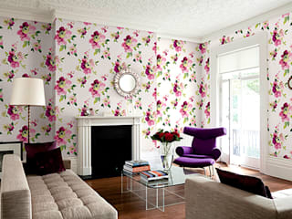 Floral: modern  by Redskin Home Decor Pvt Ltd,Modern