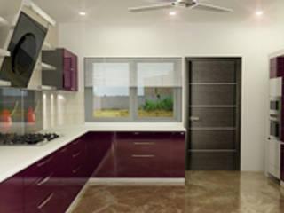 Kitchen Designs Modern kitchen by EXOTIC FURNITURE AND INTERIORS Modern