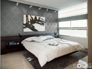 Habitación :  de estilo  por 5D Proyectos