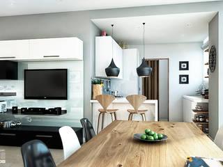 Sala / Comedor :  de estilo  por 5D Proyectos
