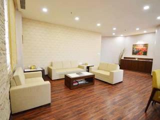 WTC SEA LOUNGE Modern living room by Studio Vibes Modern