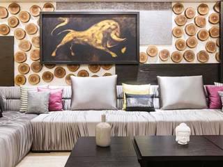 SARNAIK'S:  Living room by Studio Vibes