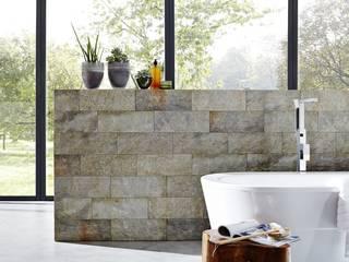 Rimini Baustoffe GmbH Mediterranean style bathrooms Tiles