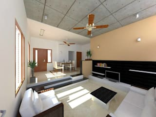 Interior Designs Modern living room by riiTiH Architects Modern