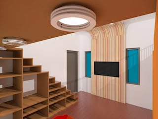 riiTiH Architects Modern nursery/kids room