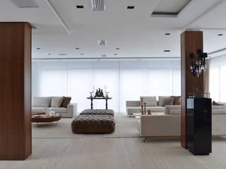 Ana Letícia Virmond Projetos e Interiores Livings de estilo moderno
