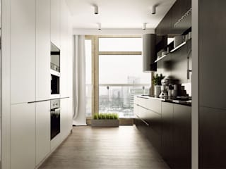 Modern kitchen by KAEL Architekci Modern