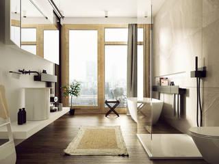 modern Bathroom by KAEEL.GROUP ARCHITEKCI
