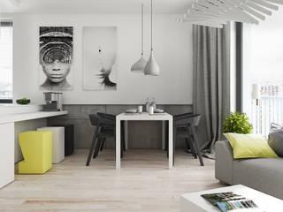 Minimalist dining room by KAEL Architekci Minimalist