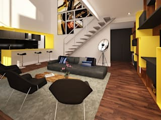Ana Carolina Cardoso Arquitetura e Design Ruang Keluarga Modern