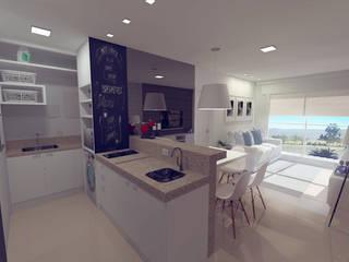 Apartamento Du Lac:   por Studio 15 Arquitetura,Clássico