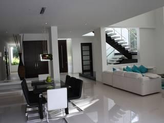 homify Modern houses Concrete White