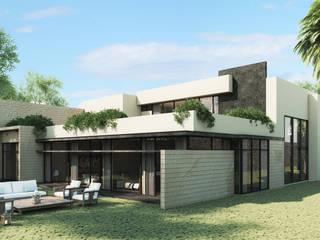 現代房屋設計點子、靈感 & 圖片 根據 Grow Arquitectos 現代風