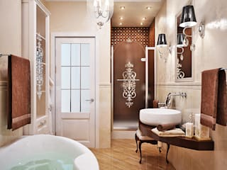 Classic style bathroom by Студия дизайна Interior Design IDEAS Classic
