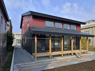 大きな開口から四季の移ろいを楽しむ家 日本家屋・アジアの家 の 丸喜株式会社齋藤組 和風