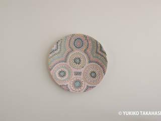 春の花皿: 高橋由紀子が手掛けたです。