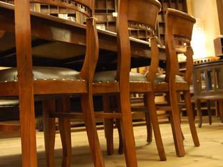 株式会社アートクルー Dining roomChairs & benches Leather Brown