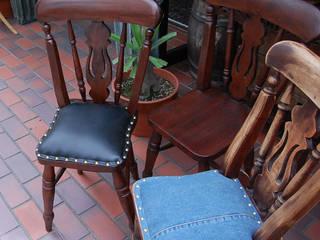 株式会社アートクルー Living roomStools & chairs Wood Brown