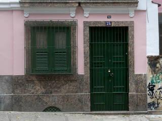 Casas de estilo ecléctico de Carlos Salles Arquitetura e Interiores Ecléctico