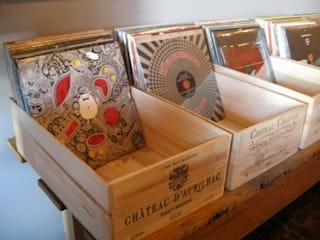 dekoratif tabela – eski kasalar:  tarz