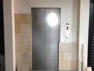 Obra civil - Enchape frente ascensores Conj. Torres del Alferez 1- Cali. de MODOS Arquitectura
