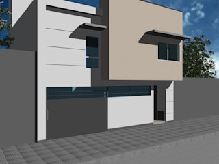 Proyecto Vivienda en el Abasto: Casas de estilo minimalista por D&D Arquitectura