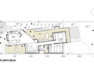 Housing Mar Azul:  de estilo  por SSA design studio