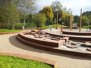 water adventure playground in Contwig (GER) by Planungsbüro STEFAN LAPORT 컨트리