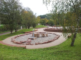 water adventure playground in Contwig (GER) by Planungsbüro STEFAN LAPORT Country